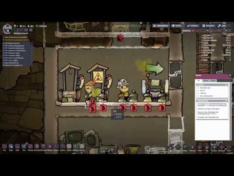 ONI eye for the strait guy! (Oxygen not included Ep3)
