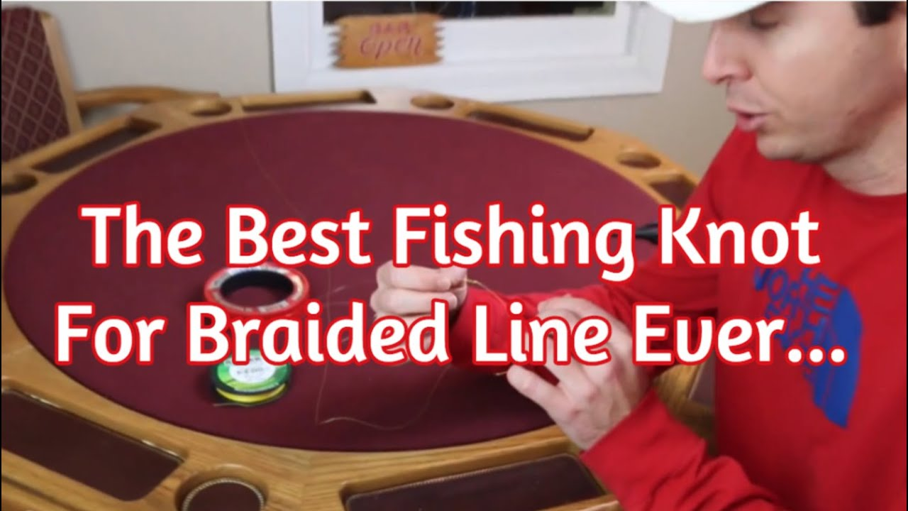 Quickest Way To Tie The Fg Knot The Strongest Braid To Leader Fishing Knot Youtube