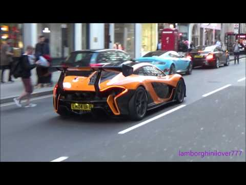 Mclaren P1 LM Causes CHAOS In London!