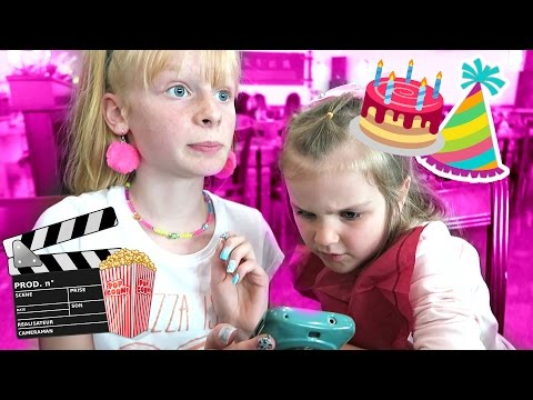 HER FiRST CiNEMA DATE + THE BiRTHDAY PARTY