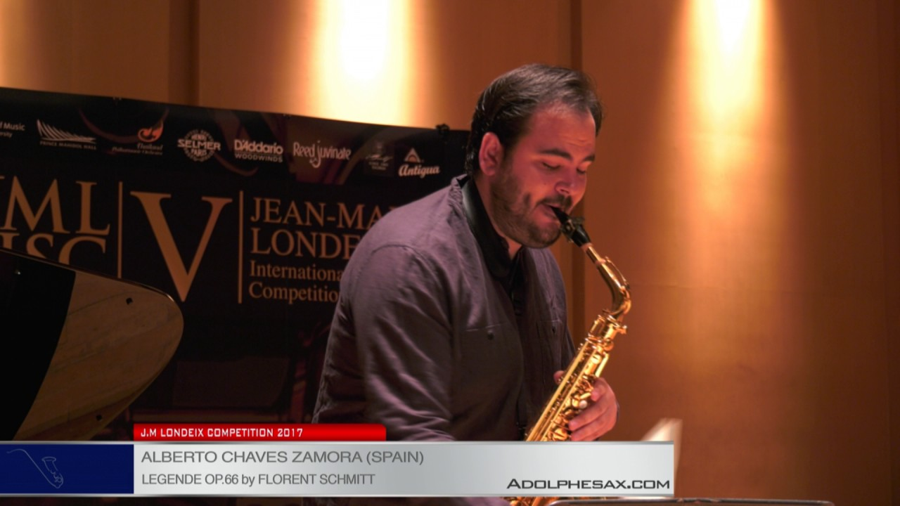 Londeix 2017 - Alberto Chaves Zamora (Spain) - Legende op. 66 by Florent Schmitt