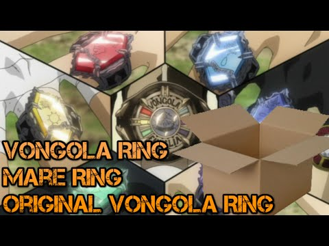 Unboxing Review Vongola Ring Original Vongola Ring Mare Ring