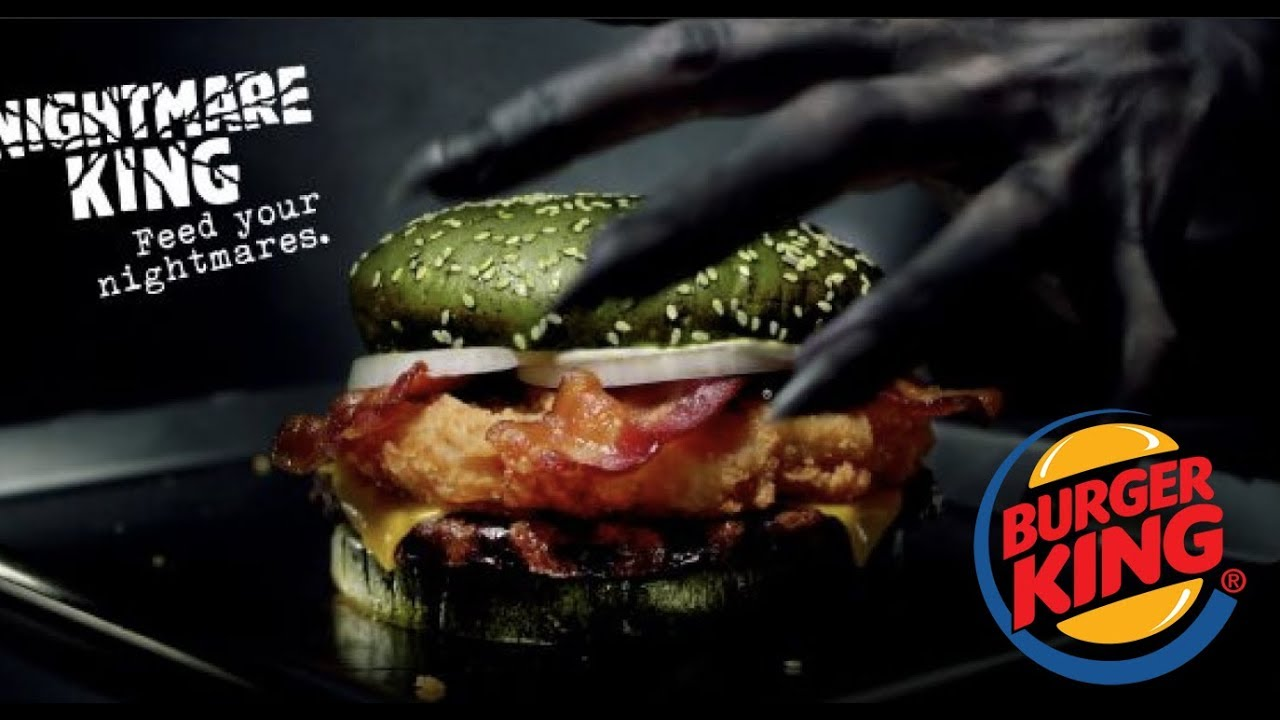 NASTY! THE BURGER KING NIGHTMARE BURGER LITERALLY WILL GIVE YOU NIGHTMARES!