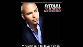 pitbull feat ne yo give me everything traducida
