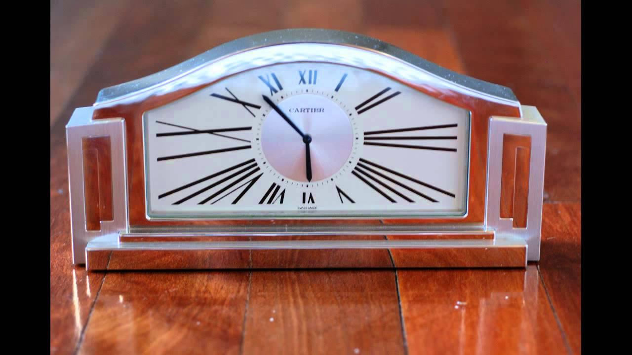 Cartier art deco mantle clock cartier stainless steel clock cartier art deco mantle clock cartier stainless steel clock amipublicfo Images