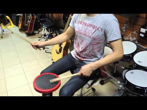 Смотреть клип Уроки драмминга на пэде. Часть 1. Блэк и Дэч метал. Have fun! онлайн бесплатно в качестве