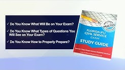 Florida Exam Civil Service Test Study Guide