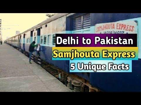 Samjhauta Express :- Five  Unique Facts
