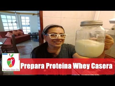 Hagamos Proteína Whey Casera y Un Licuado Post Entrenamiento - Parte 1