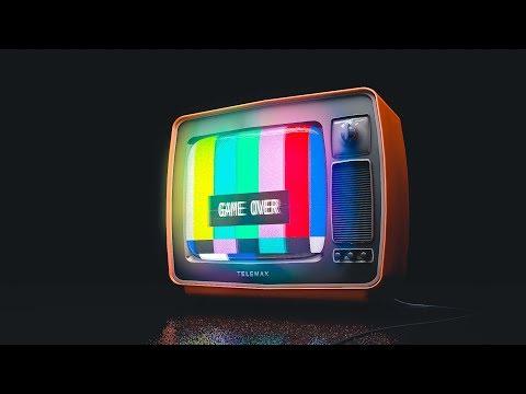 Retro TV. Cinema 4D project. FREE