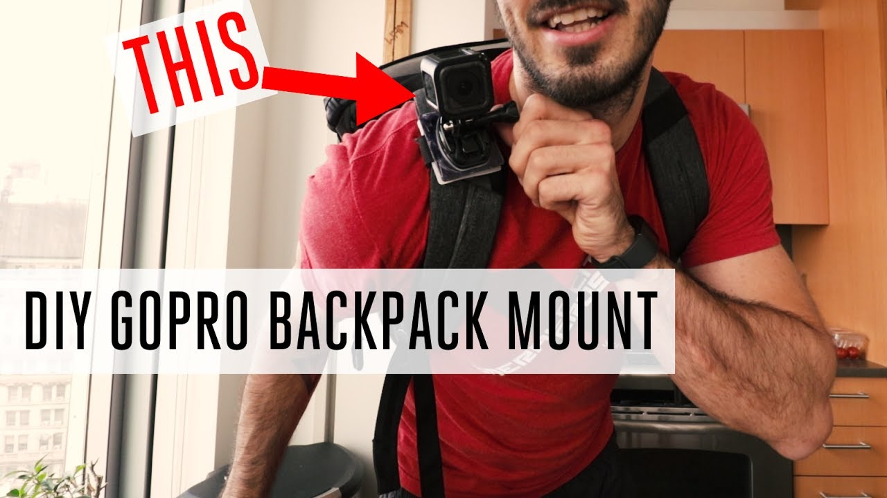 Hero5 Hero6 PolarPro StrapMount BackPack Mount for GoPro Hero7
