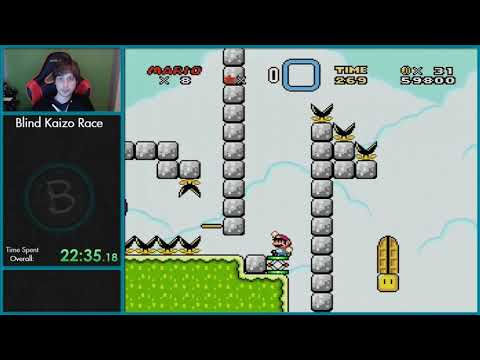 SMW Blind Kaizo Race Week 22 - Las Vegas Monster? by Morsel