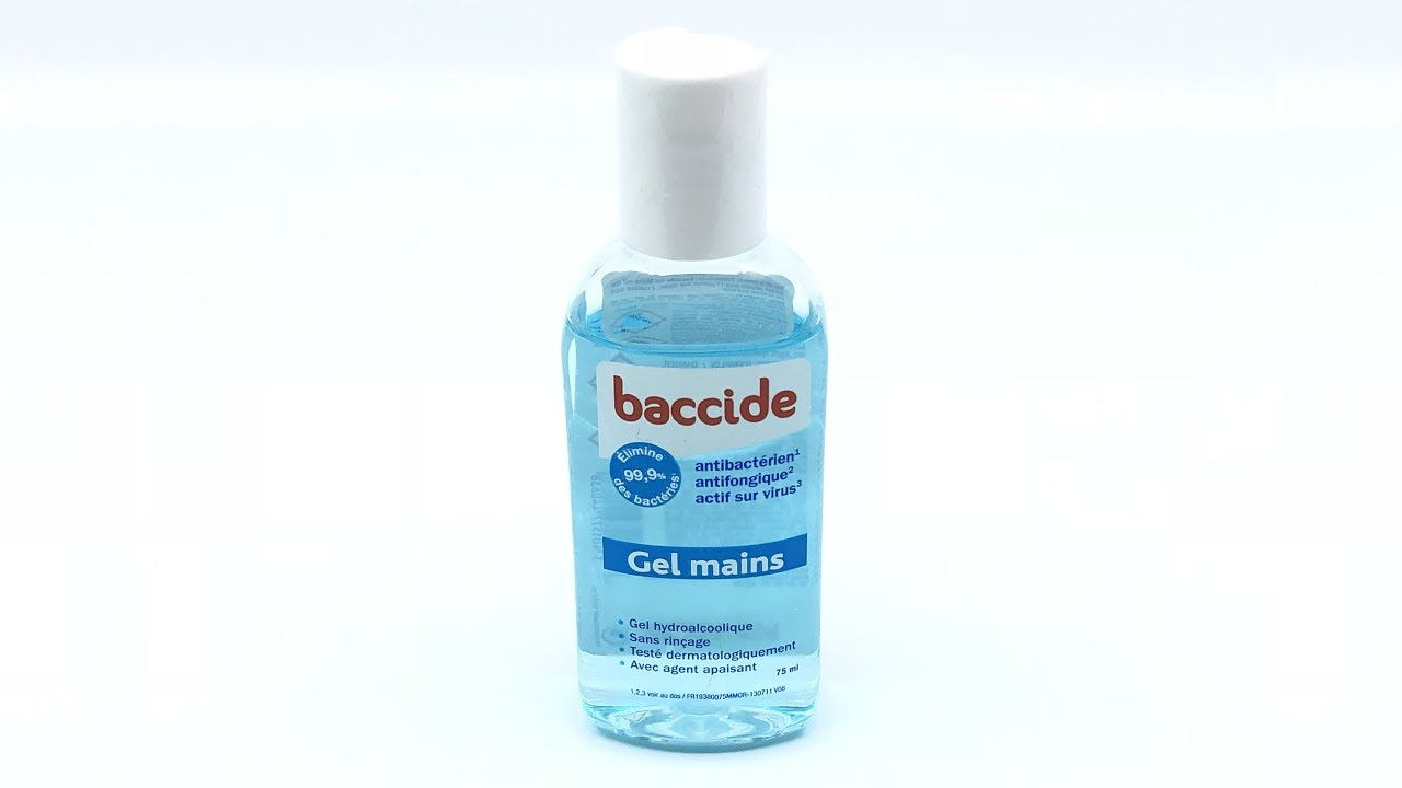 Baccide Gel Mains 75ml 4k Youtube