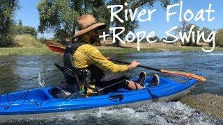 Floating the Mokelumne and Testing 2020 Eddyline Kayaks