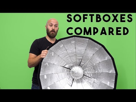 SOFTBOX COMPARISON - 8 LIGHT MODIFIERS FOR FLASH PHOTOGRAPHY DISCUSSED