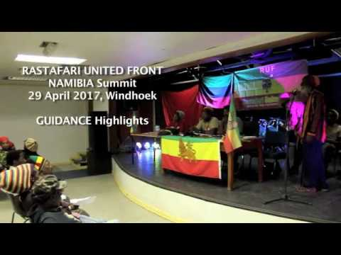 RASTAFARI UNITED FRONT NAMIBIA SUMMIT Guidance 29April2017