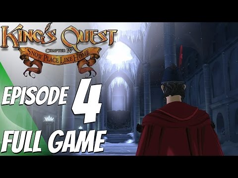 King's Quest Chapter 4 Snow Place Like Home - Gameplay Walkthrough FULL EPISODE