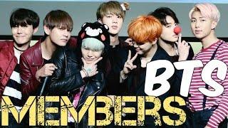 Video Members of BTS Profile (Bangtan Boys) 2016 (SACROSKPOP) download MP3, 3GP, MP4, WEBM, AVI, FLV April 2018