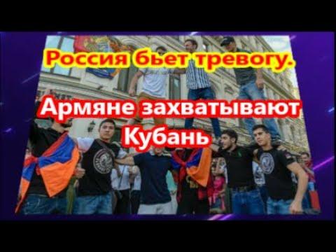 Армяне захватывают Кубань: -  Россия бьет тревогу