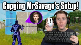 Trying MrSavage's Setup In Arena! - Fortnite Battle Royale