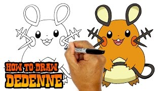 How to Draw Dedenne | Pokemon