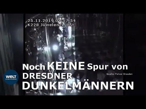 DREISTE DIEBE VON DRESDEN: Grünes Gewölbe - Polizei sucht Vierer-Bande