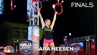 Sara Heesen at the Minneapolis City Finals - American Ninja Warrior 2018