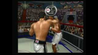 Knockout Kings 2003 (Game Cube) Game play