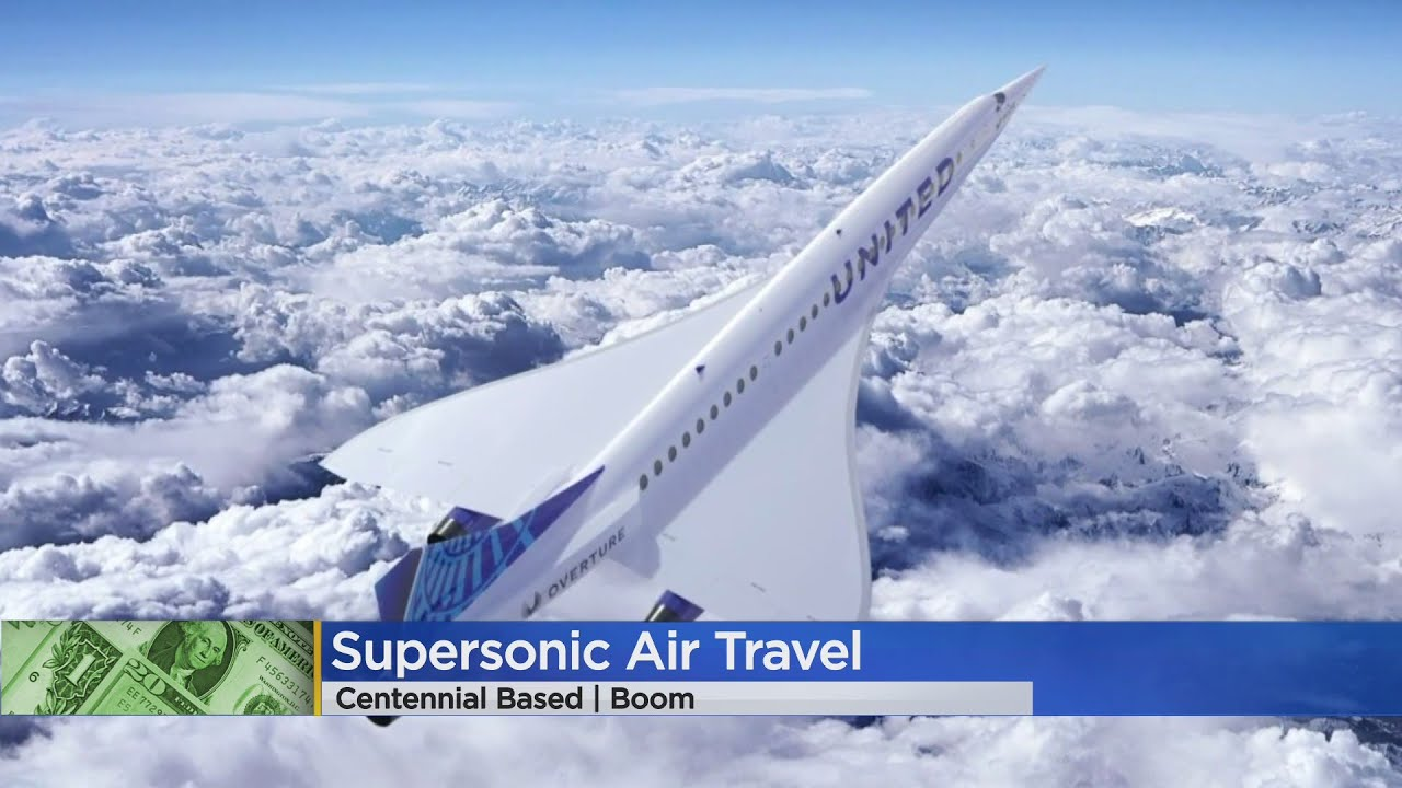 United Airlines Buying 15 Jets From Boom Supersonic In Centennial