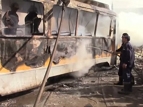 Raw: Violent Attacks Hit Egyptian Cities