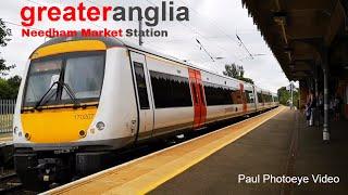 Trains of the UK - Needham Market Station- Abellio Greater Anglia