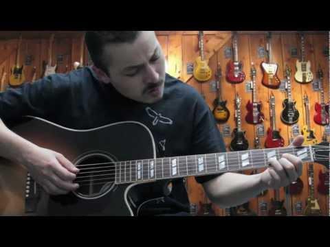 Gibson Hummingbird Pro vs Taylor 310ce Koa