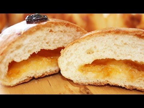 Как испечь сладкие сдобные булочки с начинкой!