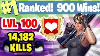 #1 WORLD RANKED - 909 WINS - 14,000 KILLS - FORTNITE BATTLE ROYALE LIVESTREAM