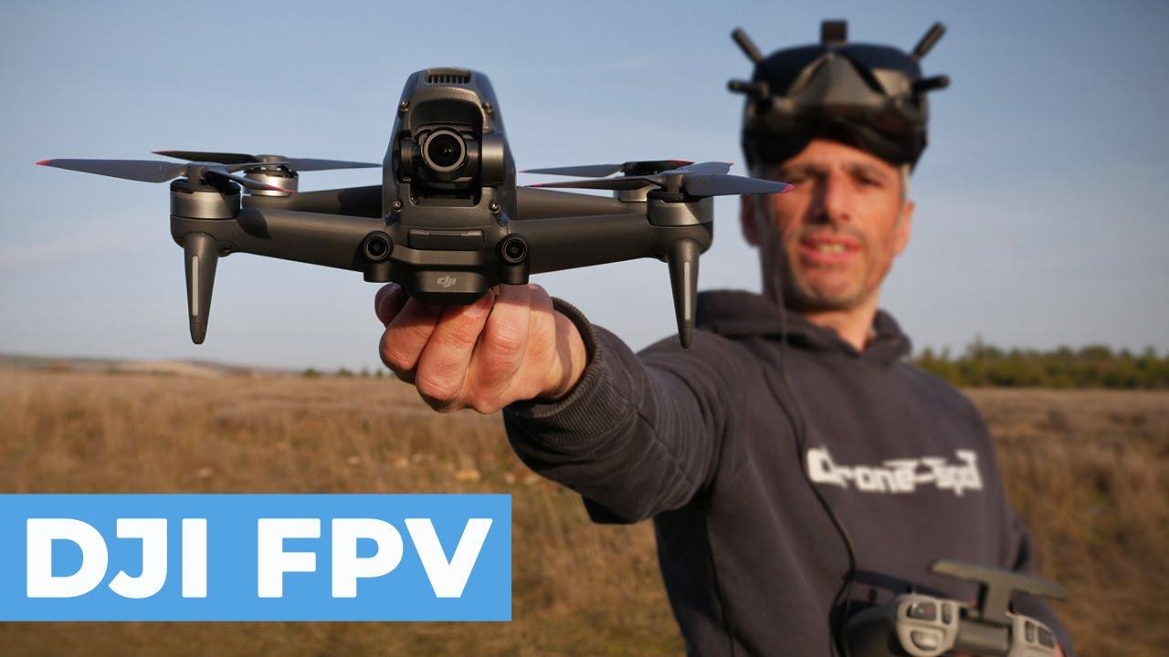 Download DJI FPV COMBO : TEST et AVIS sur ce DRONE révolutionnaire !