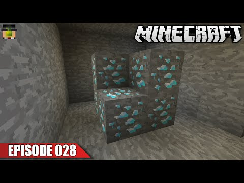 Diamond Mining | Vanilla Minecraft SSP (Ep 028)