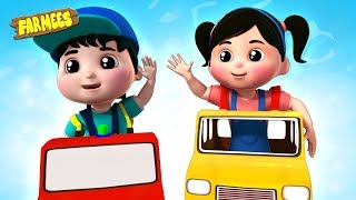 Hello Mr Taxi Song - Baby Nursery Rhymes & Kids Learning Videos
