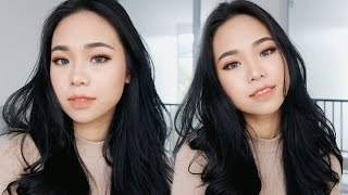 Street Chic Makeup Tutorial & Tips for Oily Acne Prone Skin | Eng Sub