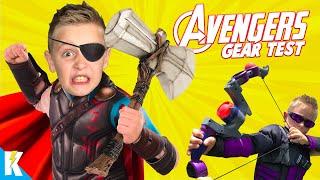 AVENGERS GEAR Test & Kids Games SuperCut! | KIDCITY