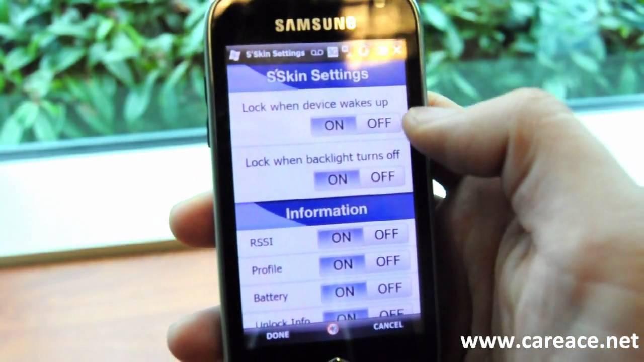 Animated Lock Screen on Windows Mobile - YouTube