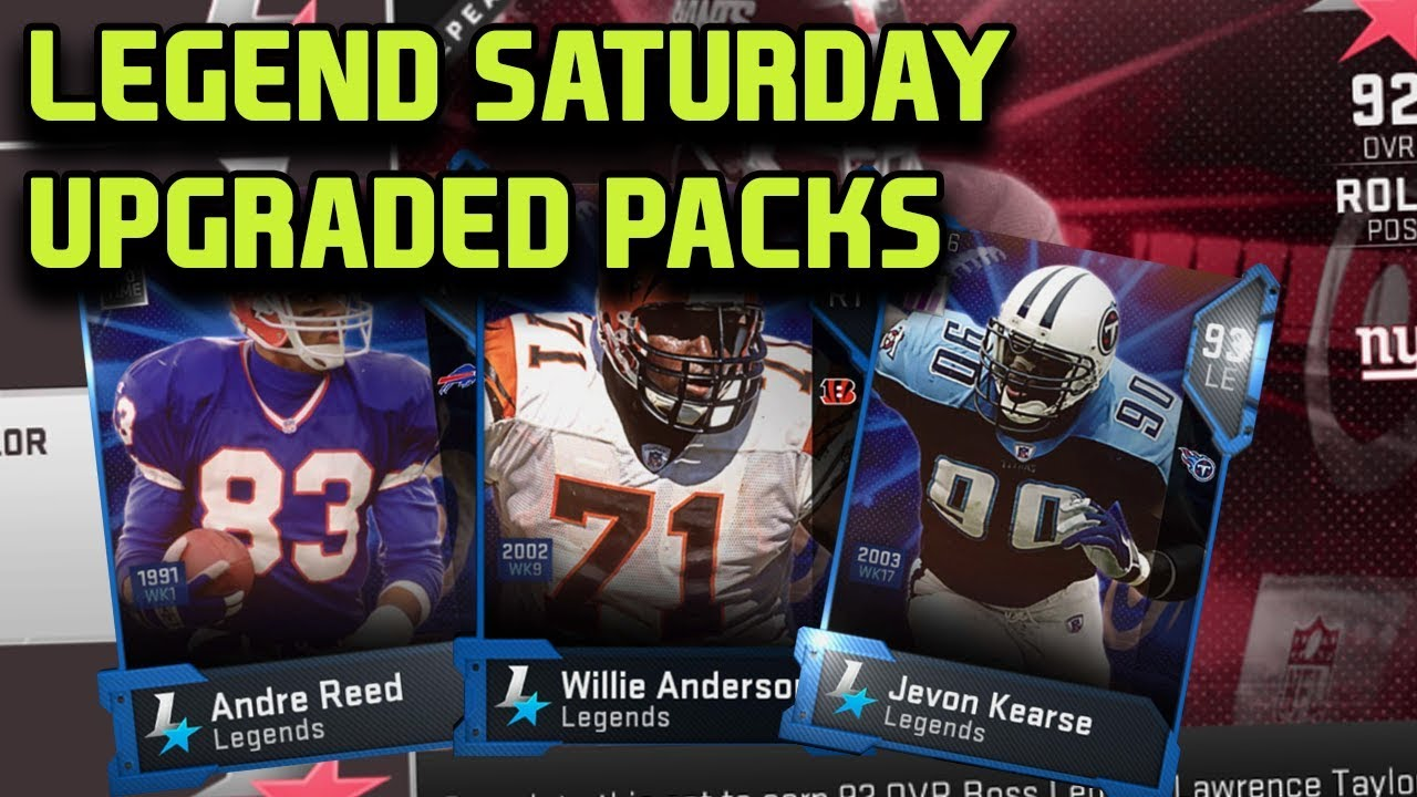 6df18f49a LEGEND SATURDAY WITH UPGRADED PACKS