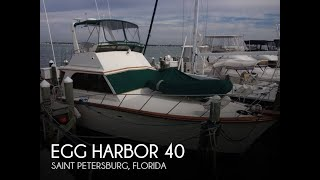 Used 1982 Egg Harbor 40 For Sale In St. Petersburg, Florida