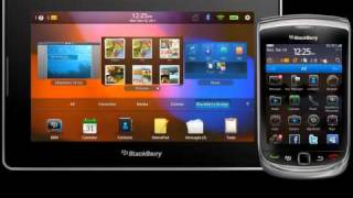 BlackBerry Playbook - Demos BlackBerry® Bridge by RIM Canada.flv