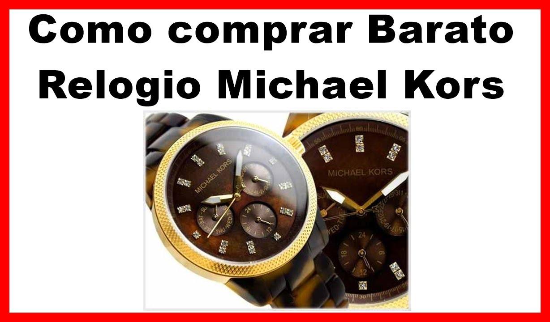 ba8493c4b88 Relogio Michael Kors original como saber e onde comprar - YouTube