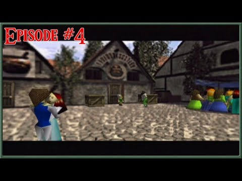 The Legend Of Zelda: Ocarina Of Time Master Quest - Hyrule Castle Town - Episode 4