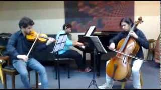 Beethoven Piano Trio in E-flat major, WoO 38; I & II mov. (1790-1791)