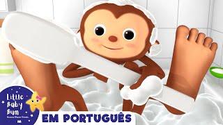 Canção do Banho | Canções infantis | LittleBabyBum