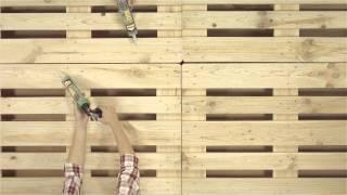 Crear una cama con palés