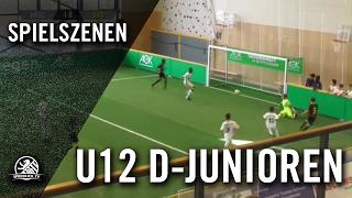 Hertha BSC - Borussia Dortmund (U12 D-Junioren, Gruppe B, AOK-Juniorenmasters 2017) - Spielszenen