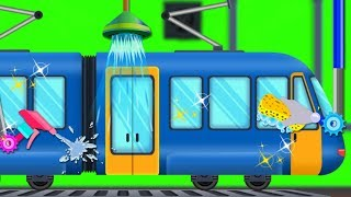Train Car Wash | Cartoon Videos For Children | Car Cartoons And Nursery Rhymes by Kids Channel